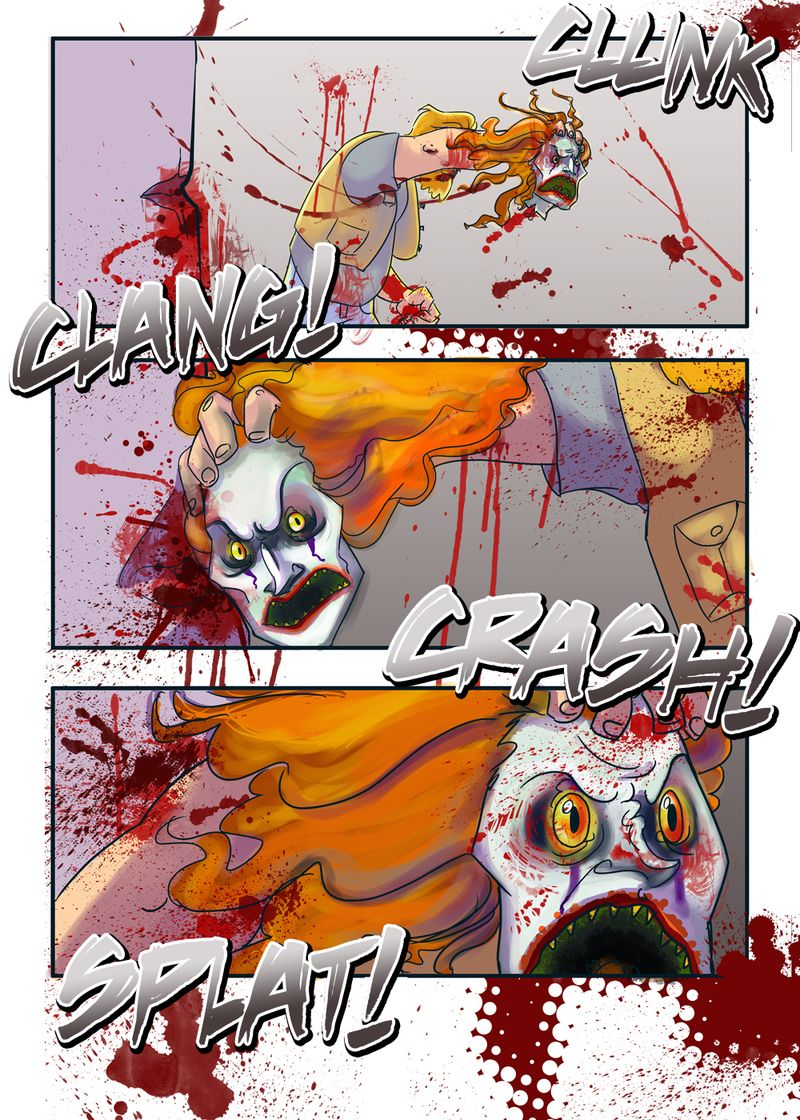 Web Comic: Coulrophobia (page 2)